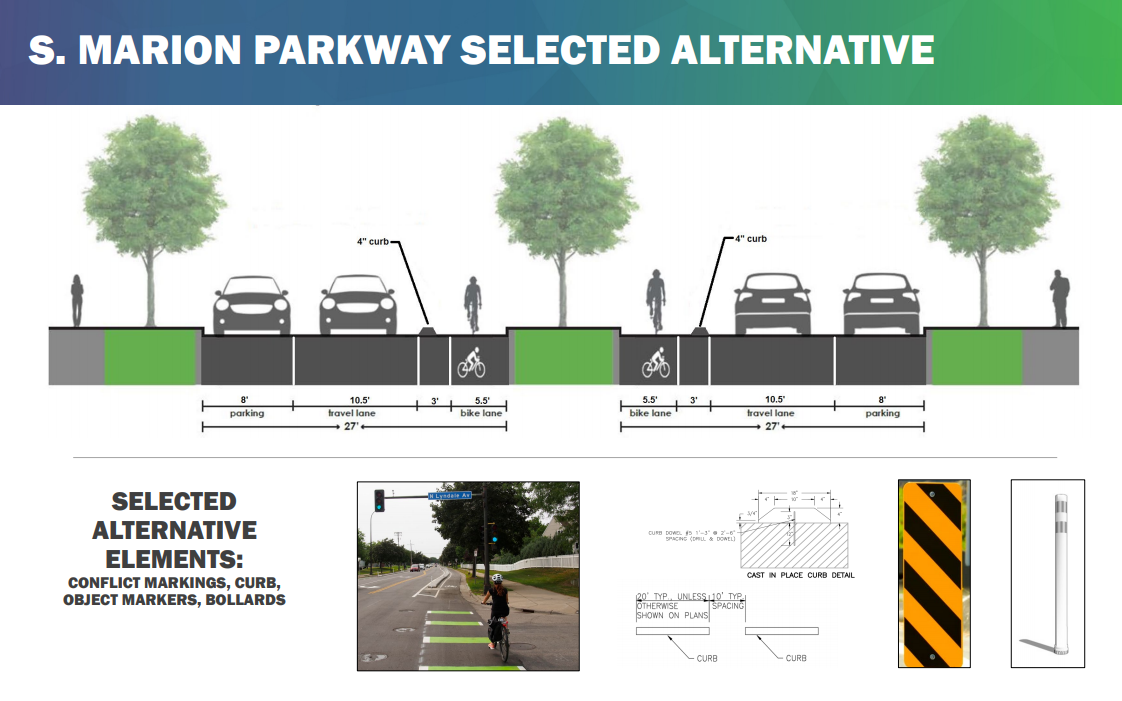 S. Marion Parkway selected alternative