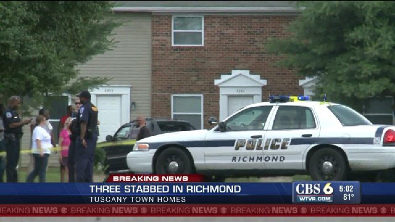 Neighbors chase down stabbingsuspect
