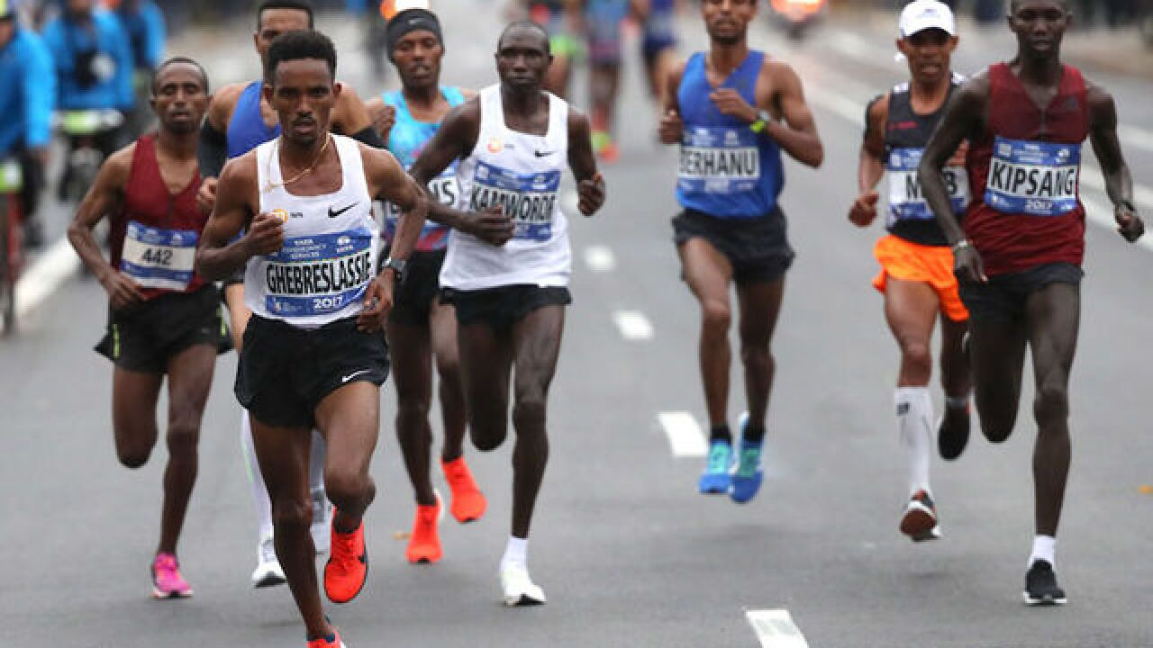 NYC marathon runners stay the course, despite last week's terror attack