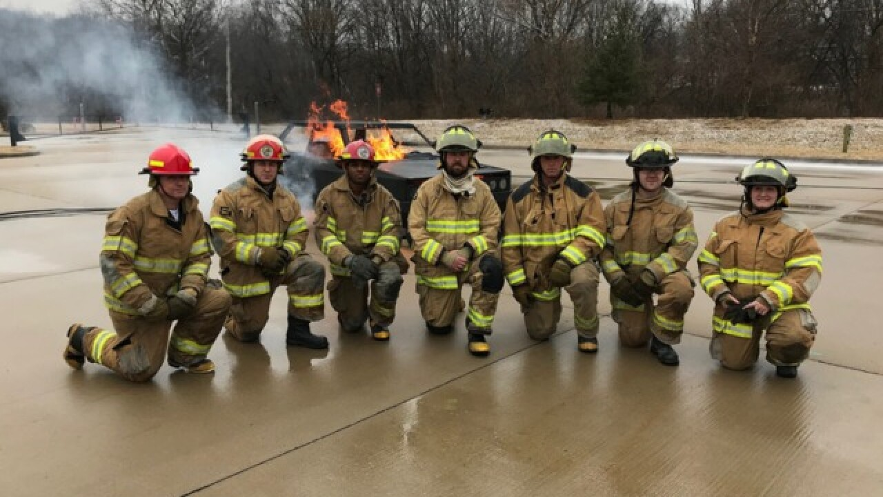 Program gives veterans firefighting experience