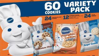 Huge Pillsbury cookie dough variety pack is just $5.98