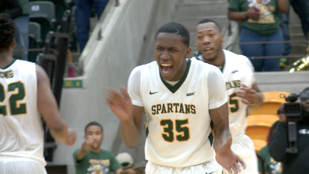 Norfolk State forces overtime, overcomes N.C. Central to stay atop MEACstandings