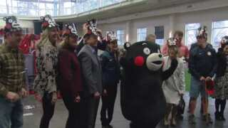 Tokyo Olympic officials welcomed to Colorado Springs