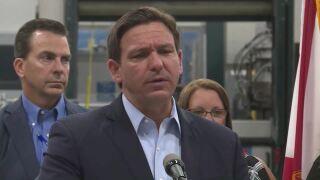 Gov. Ron DeSantis in Port St. Lucie: 'That's not happening in Florida' regarding COVID-19 shutdown