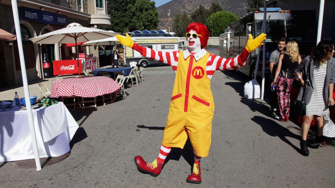 McDonald's cuts back on Ronald McDonald appearances amid creepy clown concerns