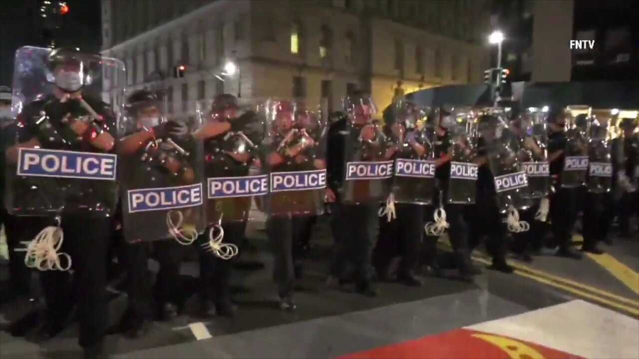 NYPD clears out Occupy City Hall protesters from City Hall Park