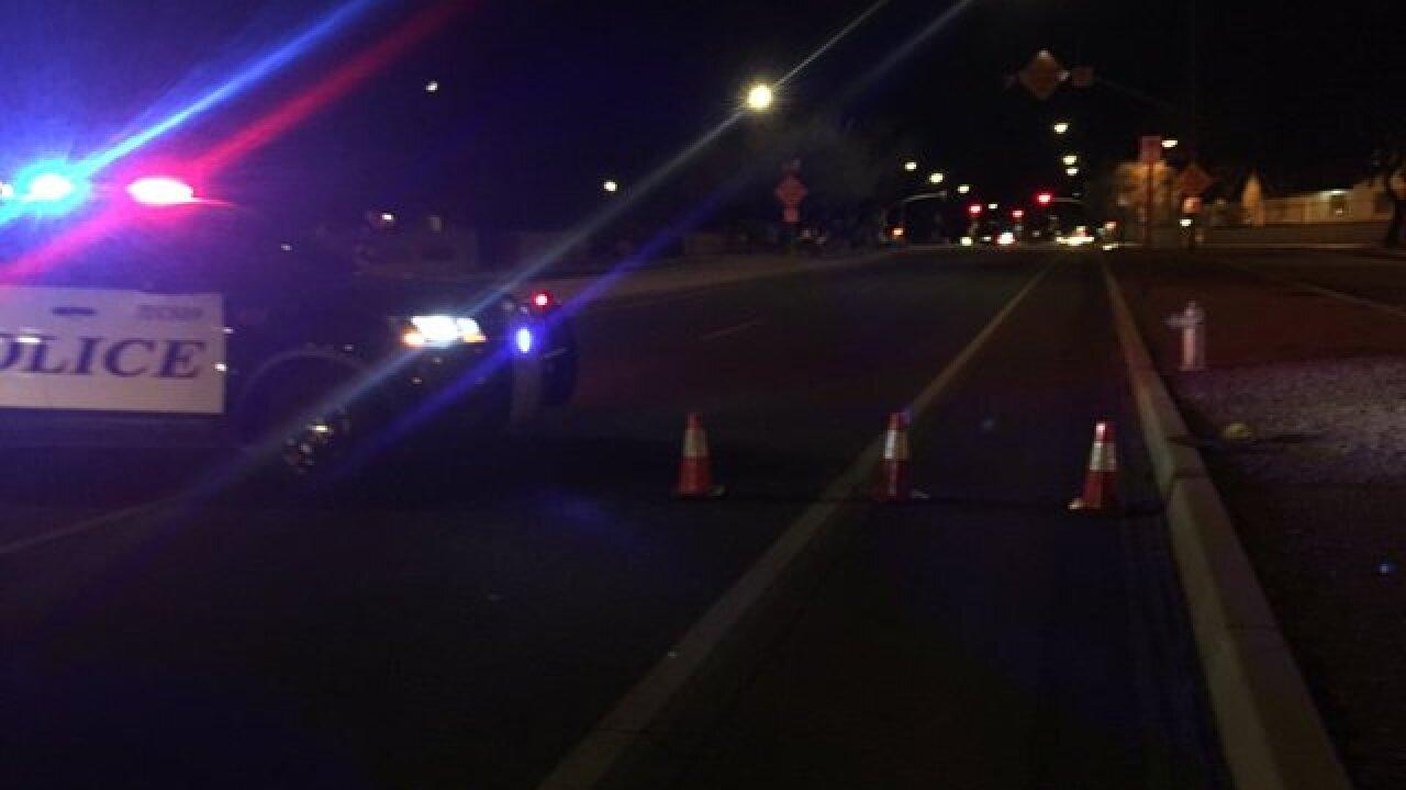 Pedestrian struck at Speedway & Grande Accident