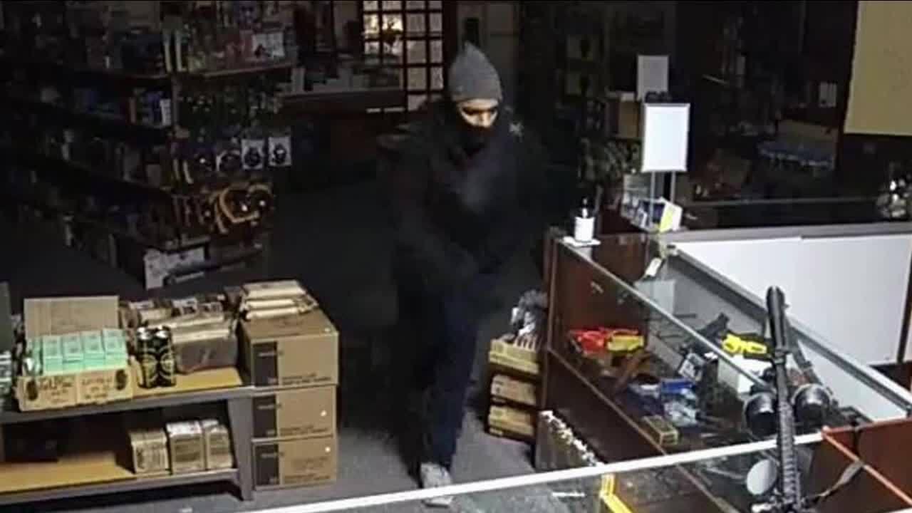 Persons of interest in gun burglaries