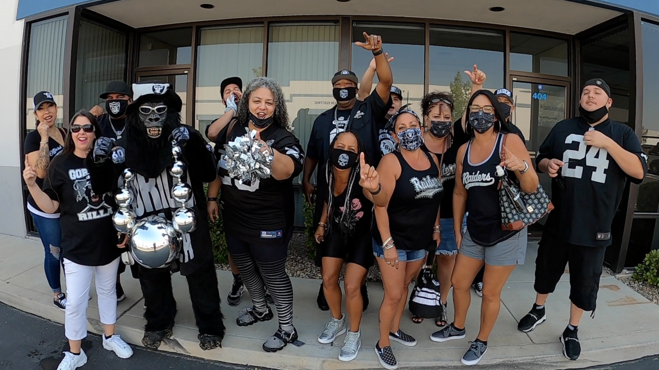 The Black Hole assures Raiders fans they will support team in Las Vegas