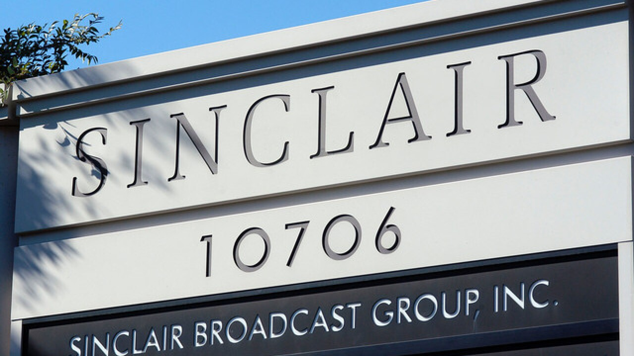Trump defends Sinclair Broadcast after Deadspin video