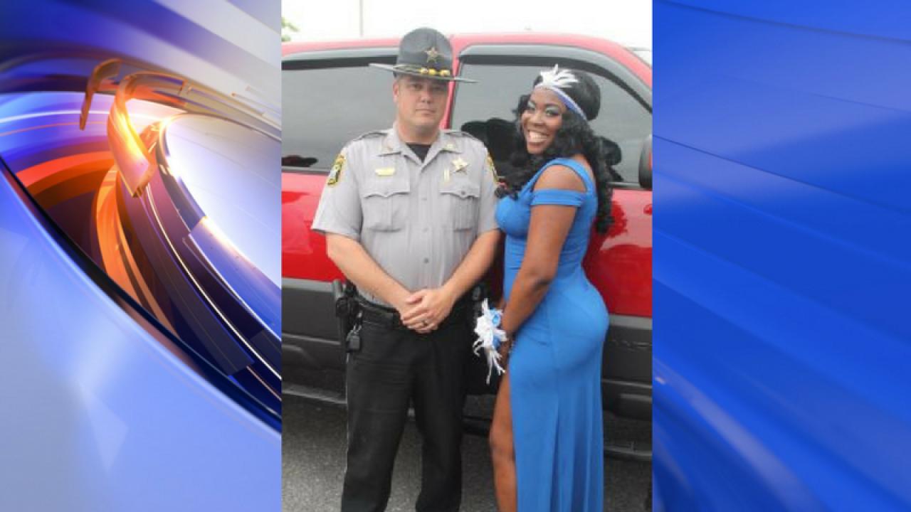Deputy prom escort leads to an unforgettable night for Elizabeth Cityteen