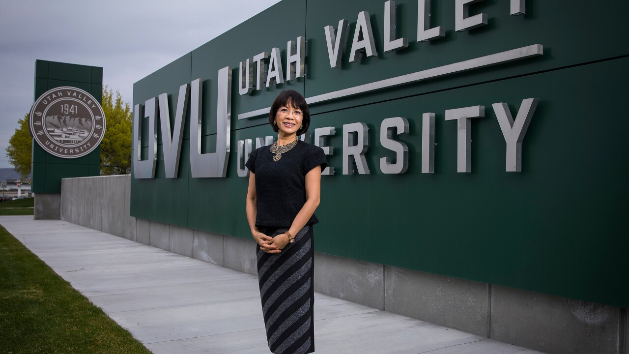 Astrid Tuminez to become first female president of UVU