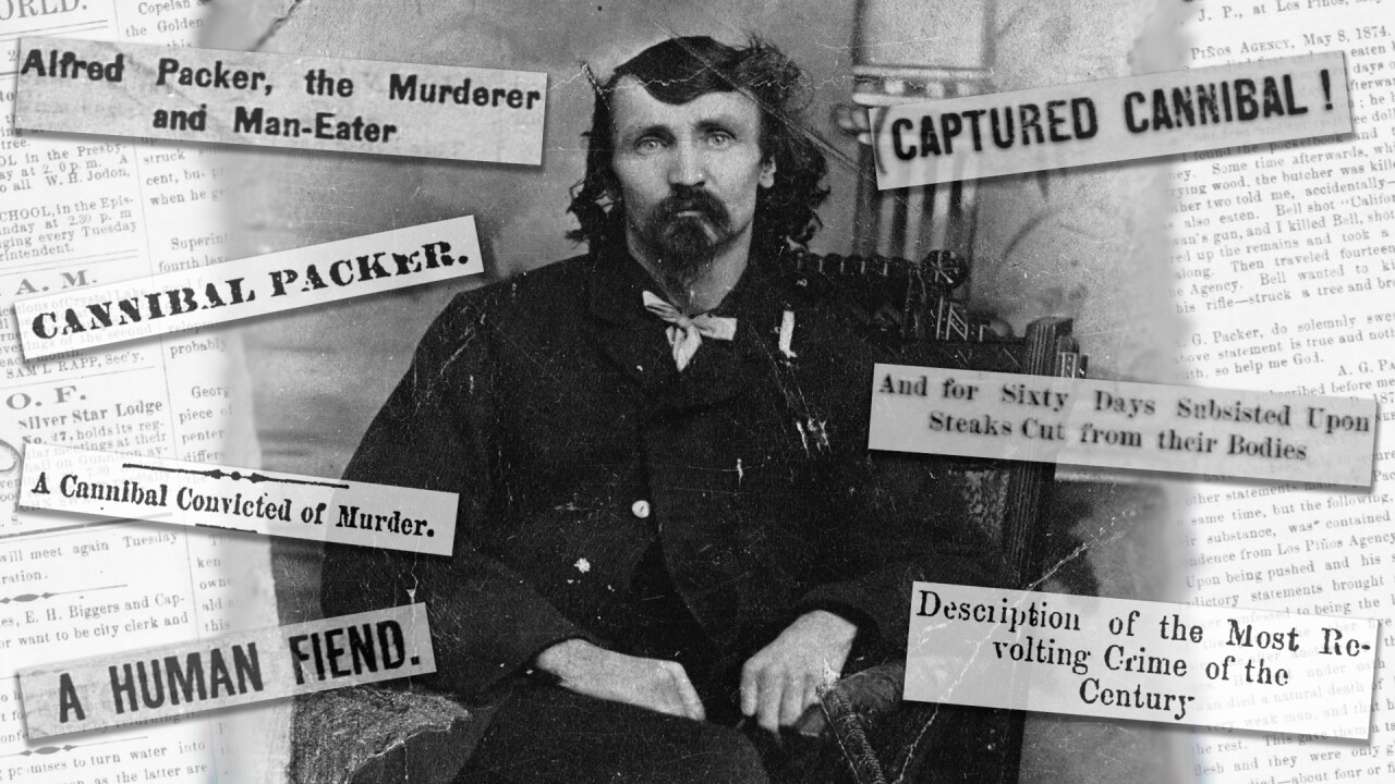 Bone appétit: The story of Alferd Packer, Colorado's most infamous, yet beloved, cannibal