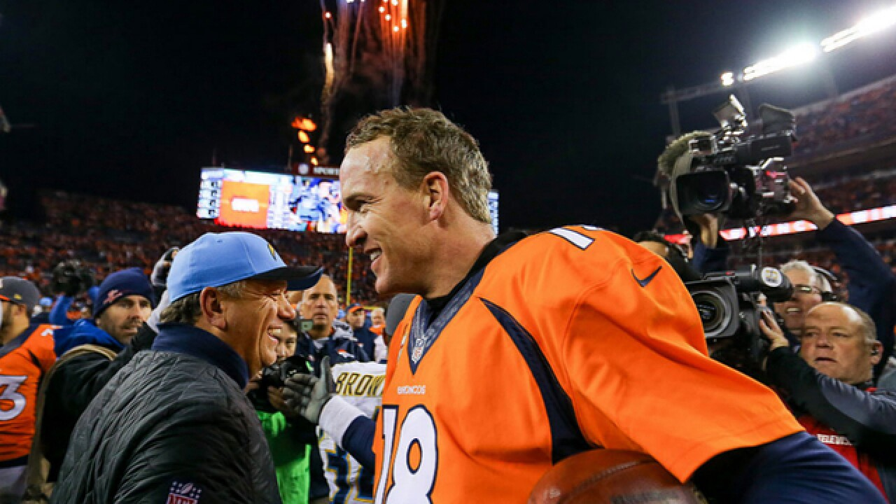 Manning 'amped up' for 25th playoff start