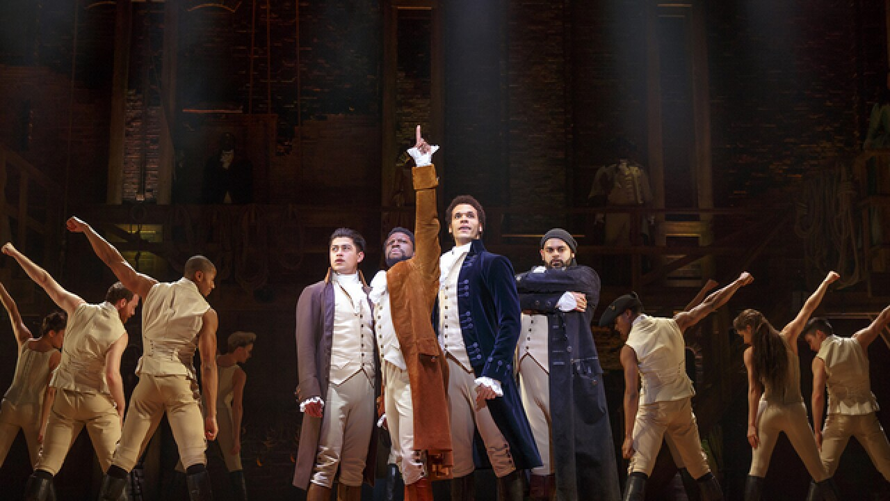 'Hamilton' coming to Denver in 2018; tickets on sale Jan. 22