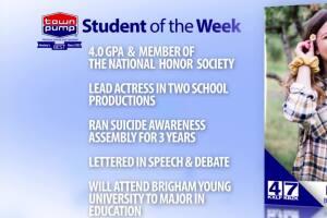 Student of the Week: Eliza Jefferies