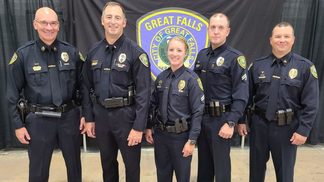 GFPD promotes several officers