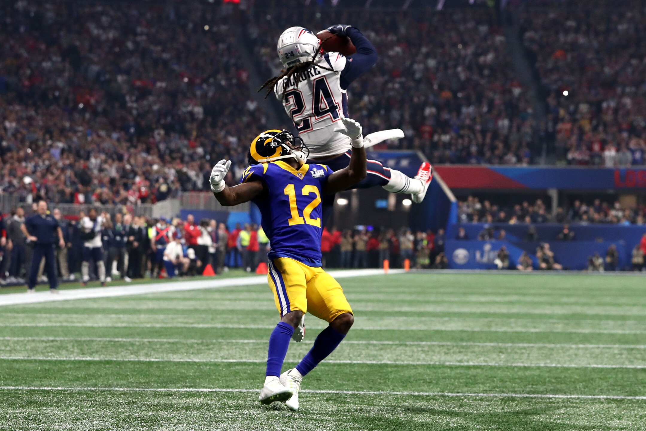 Photos: Patriots beat Rams 13-3 in Super Bowl LIII