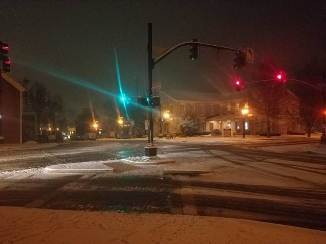 PHOTOS: Snow blankets the Tri-State leading into last weekend of 2017