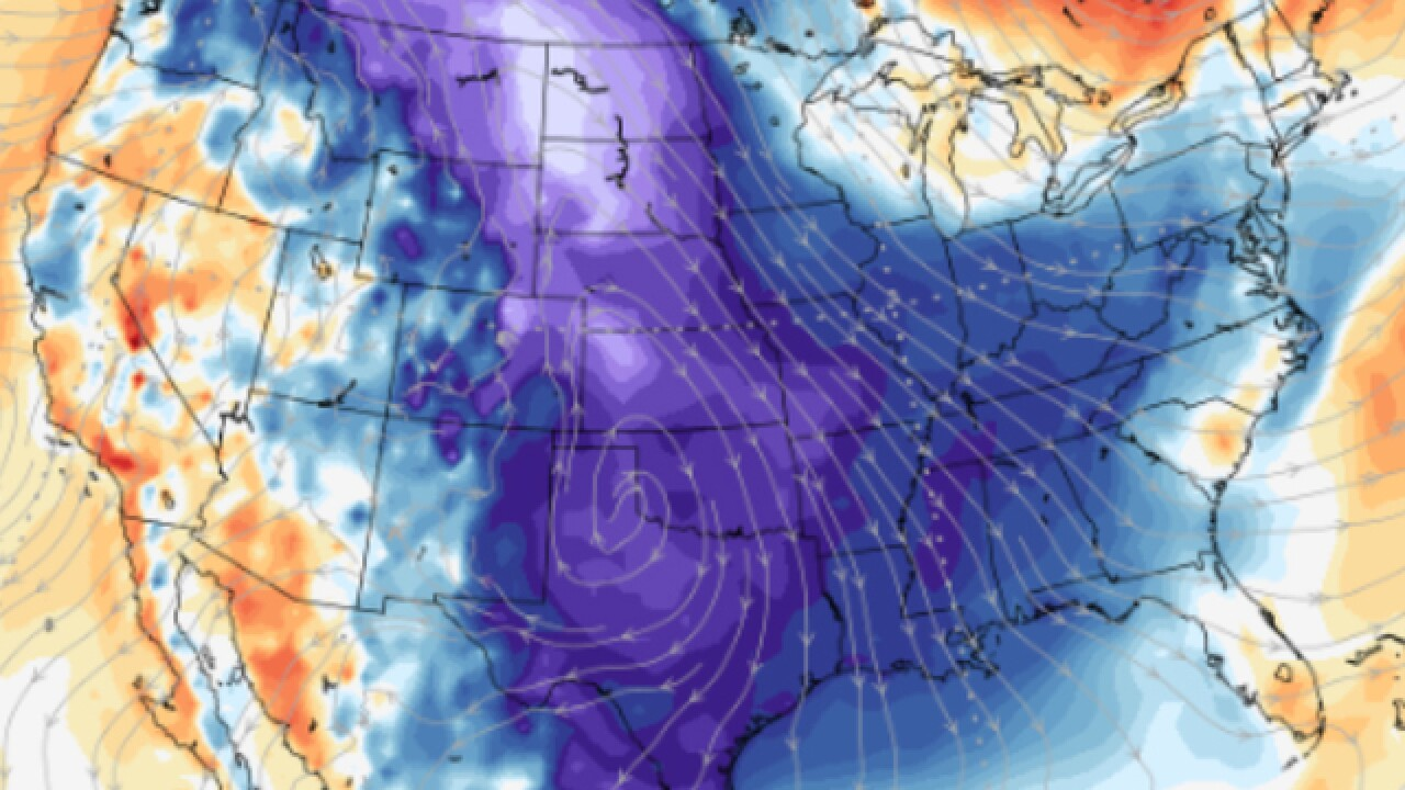 Arctic blast invading entire US