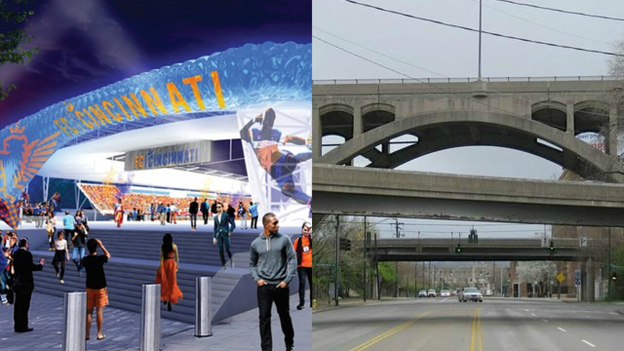 New stadium, new viaduct: Which is more urgent?