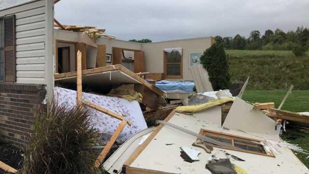 One injured in Pennsylvania tornado