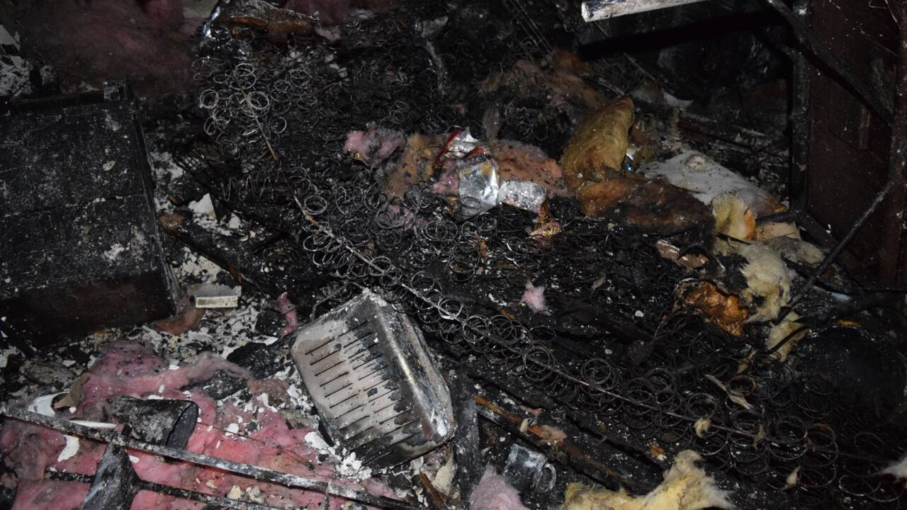 Weber Co. fire crews offer warning about space heaters after pets perish in 2-alarm blaze