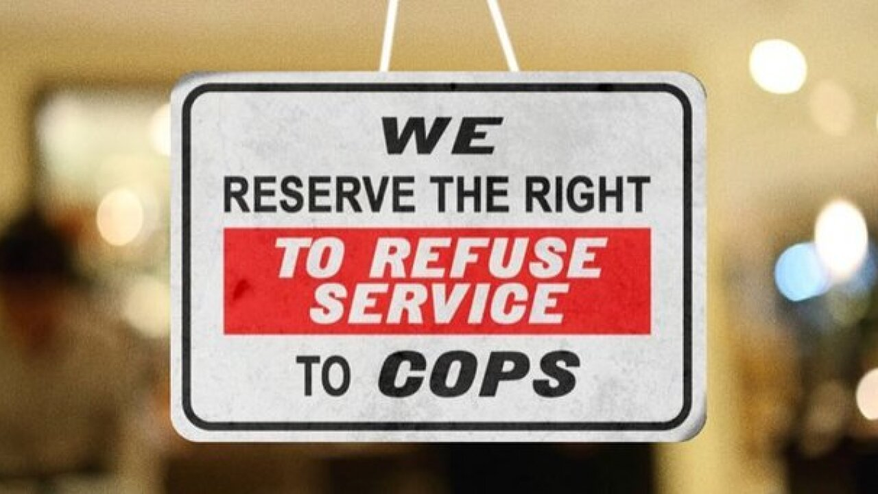Detroit food truck owner refuses to serve 'law enforcement agents'