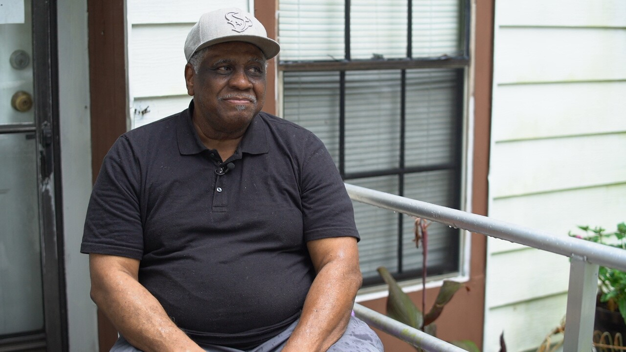 James Leveston, 77, speaks about the community of Tamina