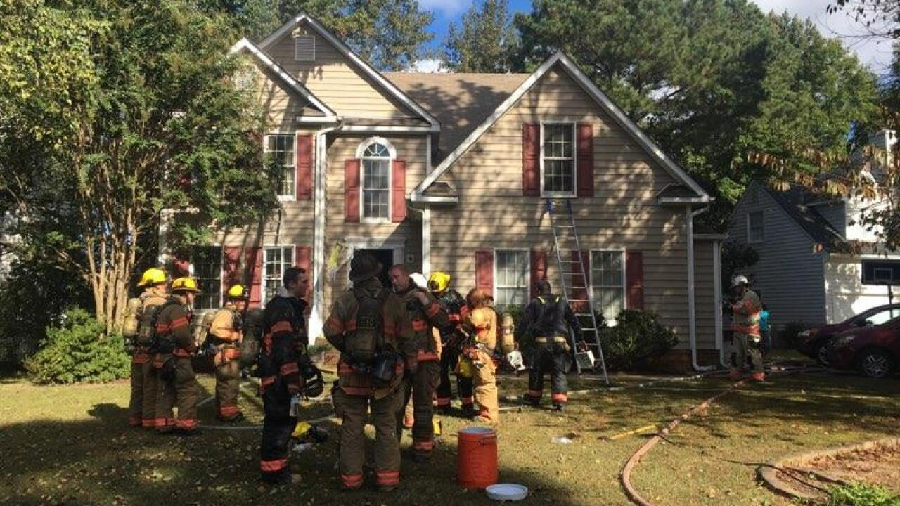 Firefighters douse Mechanicsville house fire; no injuriesreported