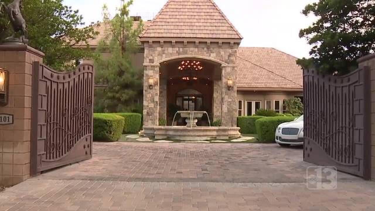 Vegas real estate drawing elite Californians
