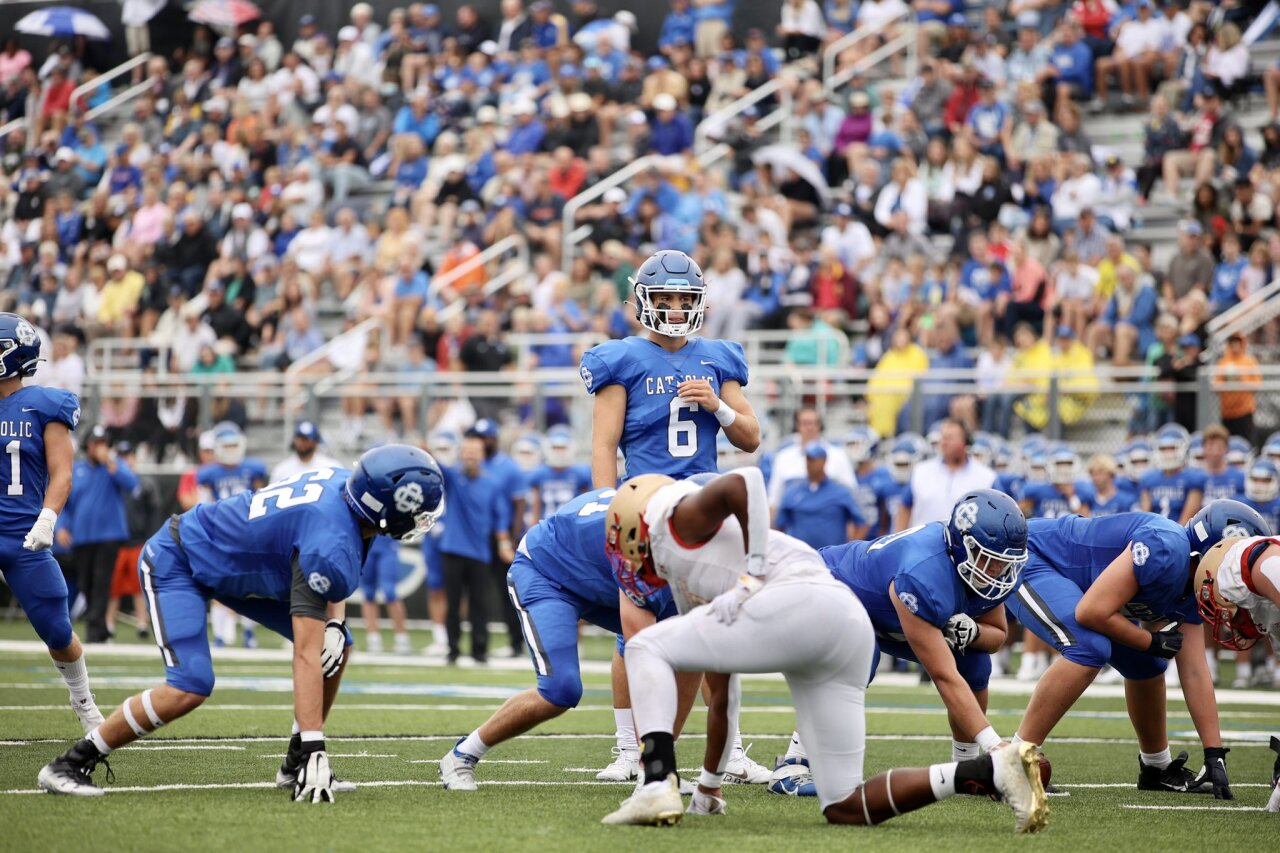 Joey Silveri helps lead Catholic Central to 2-0