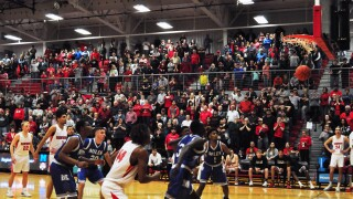 Camron Dunfee free throw DCC