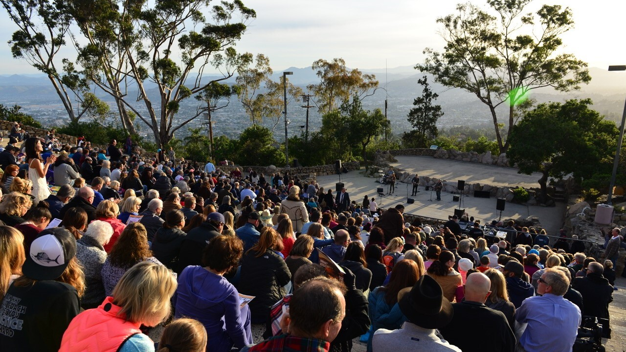 Mt helix easter service