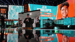 Jaelan Phillips selected by Miami Dolphins with 18th pick in first round of 2021 NFL Draft