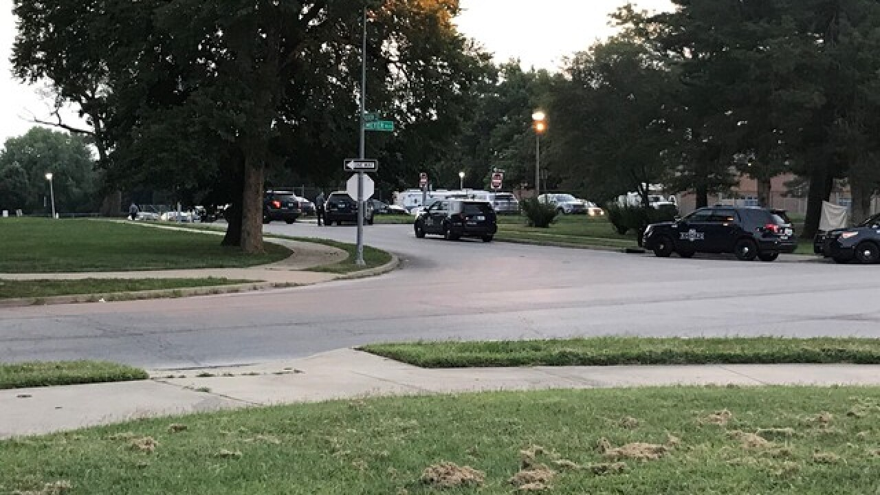 Standoff over, one injured in gunfire with police