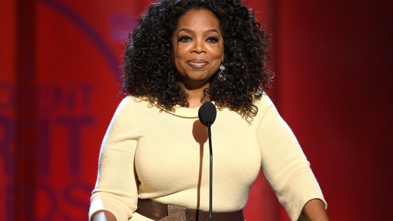 Oprah Winfrey hints at run for president in 2020