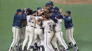 Kansas City Royals celebrate