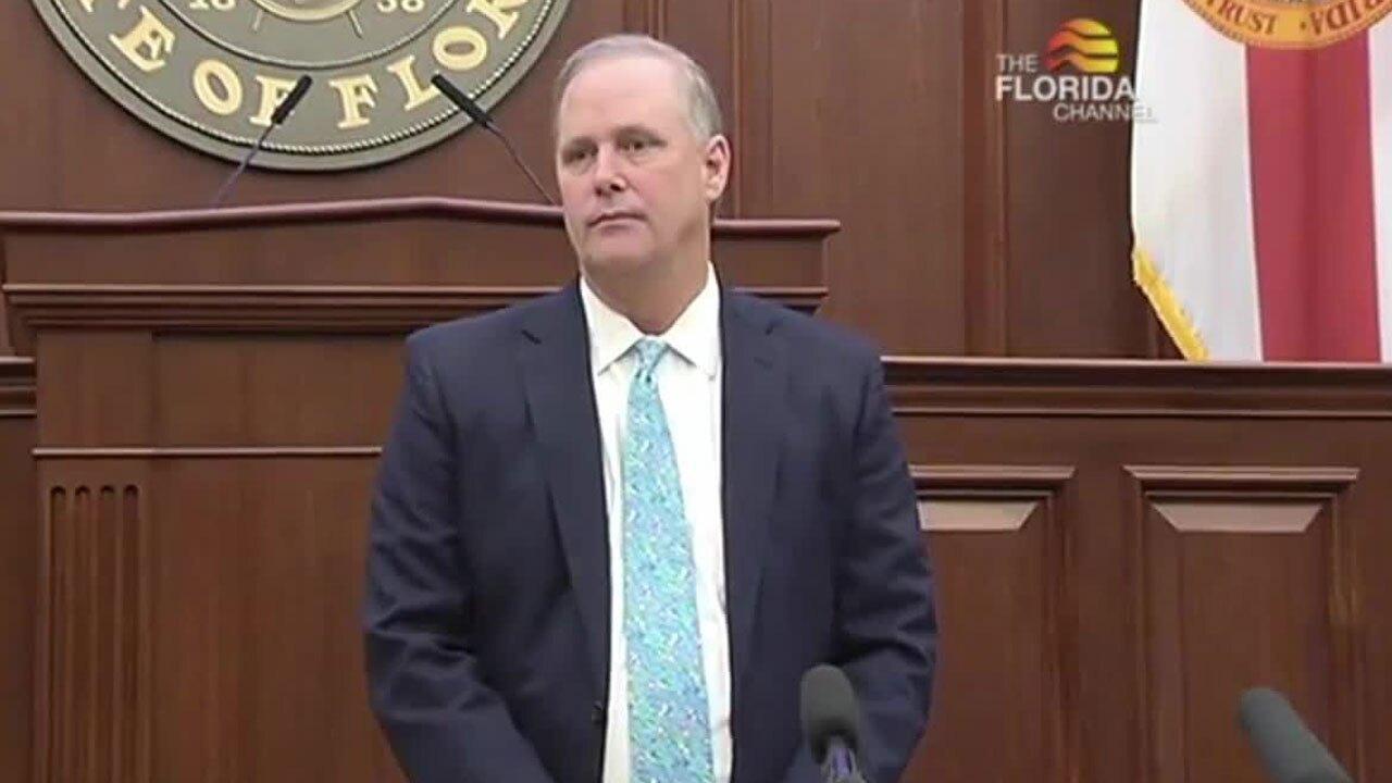 Senate President Wilton Simpson