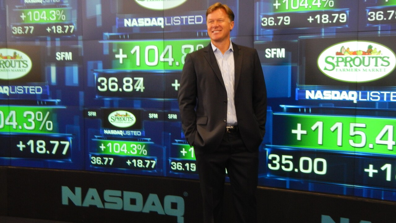 Shon Boney former Sprouts CEO
