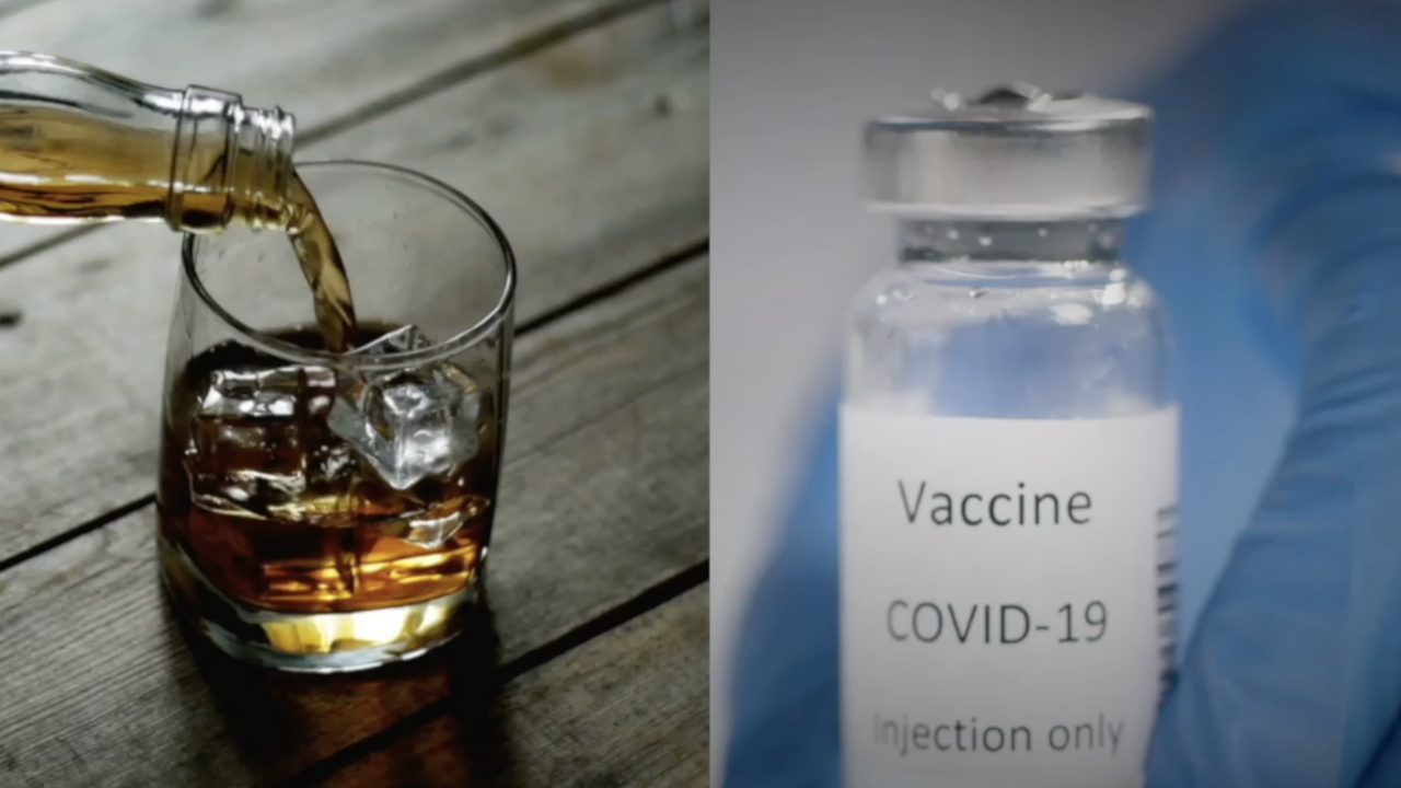 Alcohol and COVID-19 vaccination