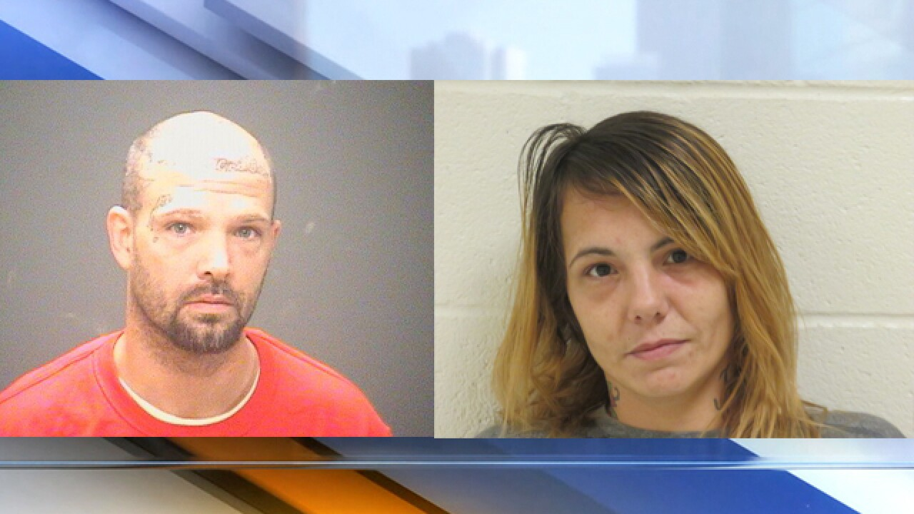 Bond set, additional charges filed against man, woman arrested for