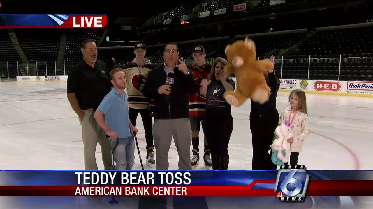 Teddy Bear Toss highlights IceRays weekend