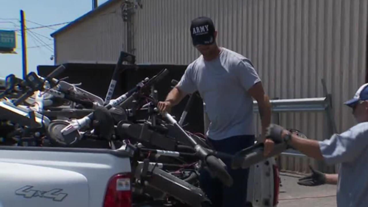 Metro Impounds Hundreds Of Bird Scooters