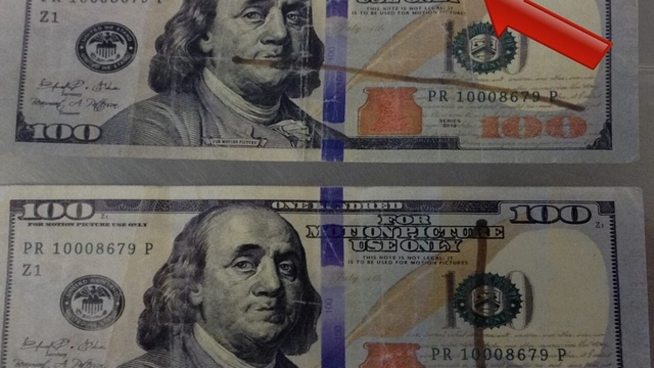 Prop $100 bills showing up in Pueblo