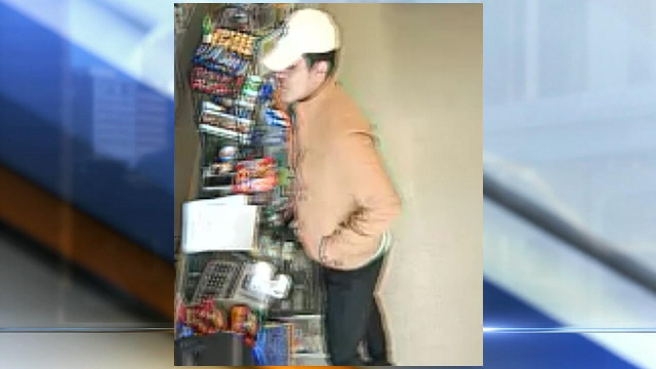 Man wearing Chiefs hoodie robs Olathe business