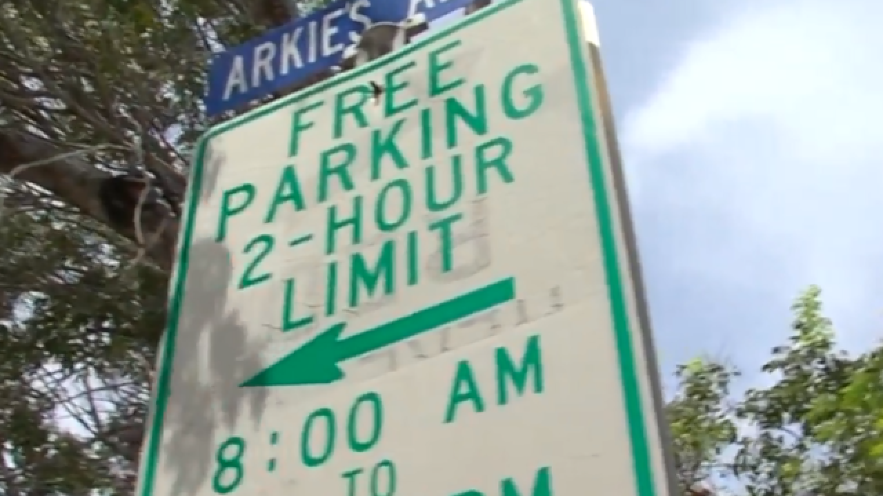 Delray offering parking permits for downtown