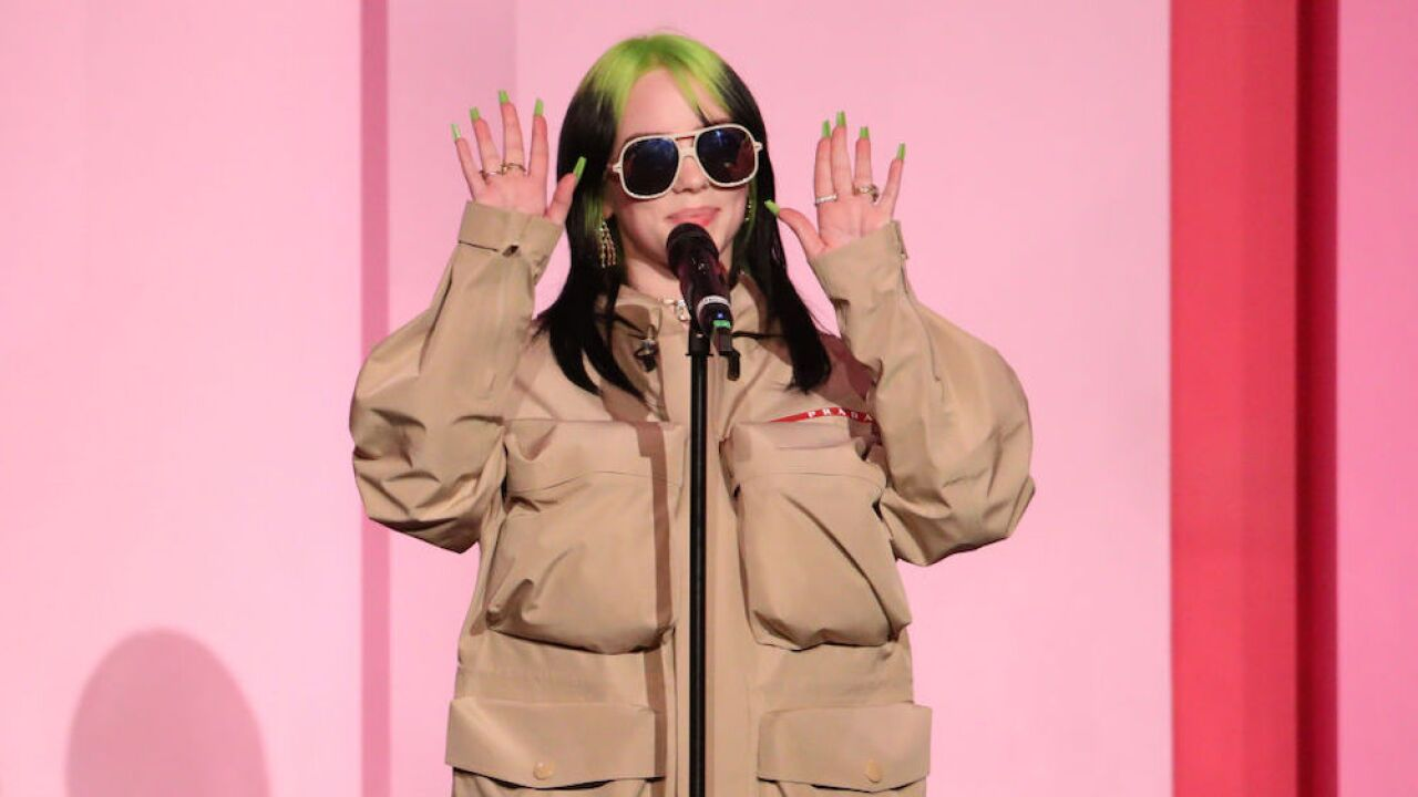 Billie Eilish will record the title track to the next James Bond film