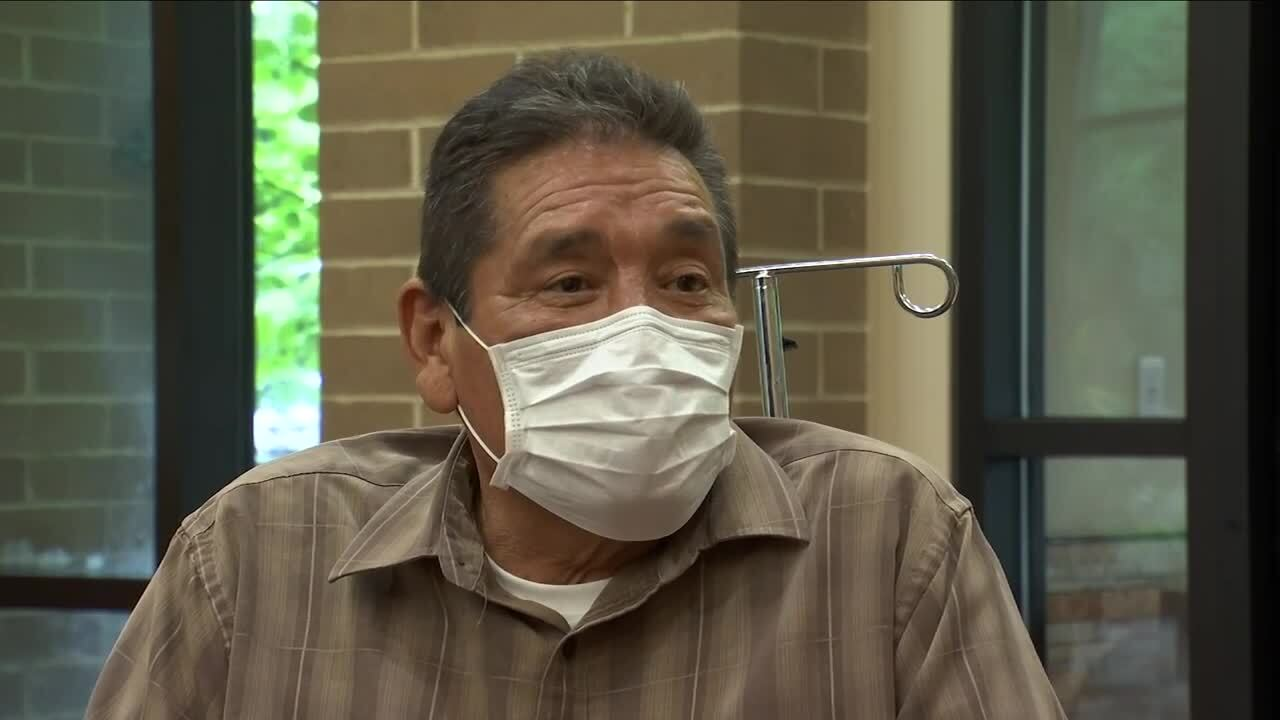 Billings man reunited with family after three weeks battling COVID-19