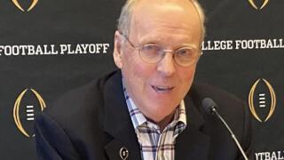 College Football Playoff Executive Director Bill Hancock